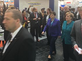 Famous Faces Join Us at Hannover Messe