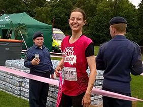 Marketing Coordinator, Sarah Knowles, Gets 'Pretty Muddy'!