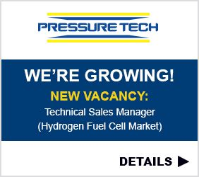 Pressure Tech: Technical Sales Manager - Hydrogen Fuel Cell Market Job Vacancy