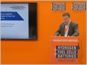 Steve Yorke-Robinson Presents at Hydrogen Fuel Cell Exhibition