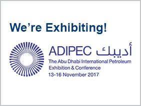 Pressure Tech is Exhibiting at ADIPEC 2017